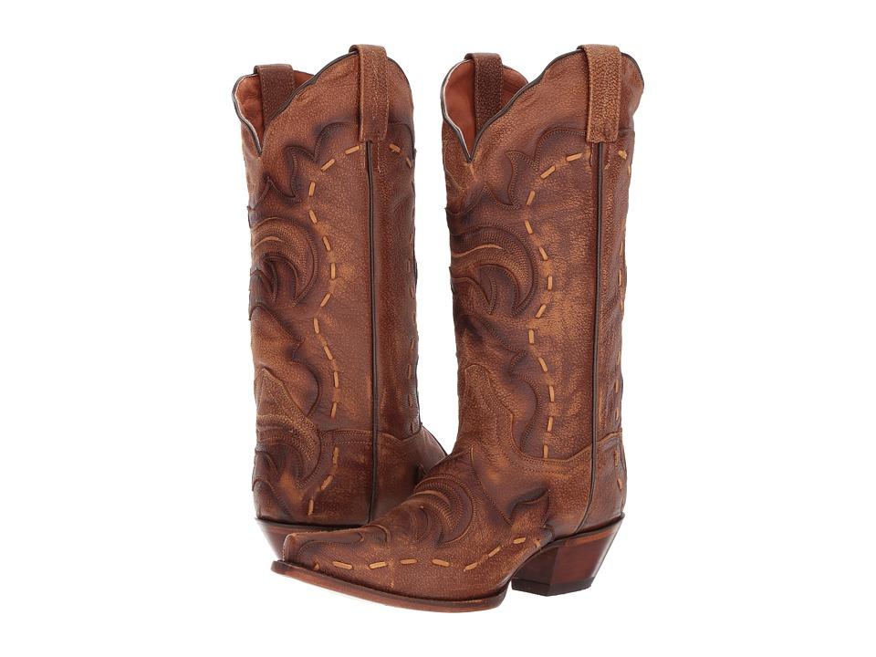 Dan Post Everlee (Tan/Brown) Cowboy Boots