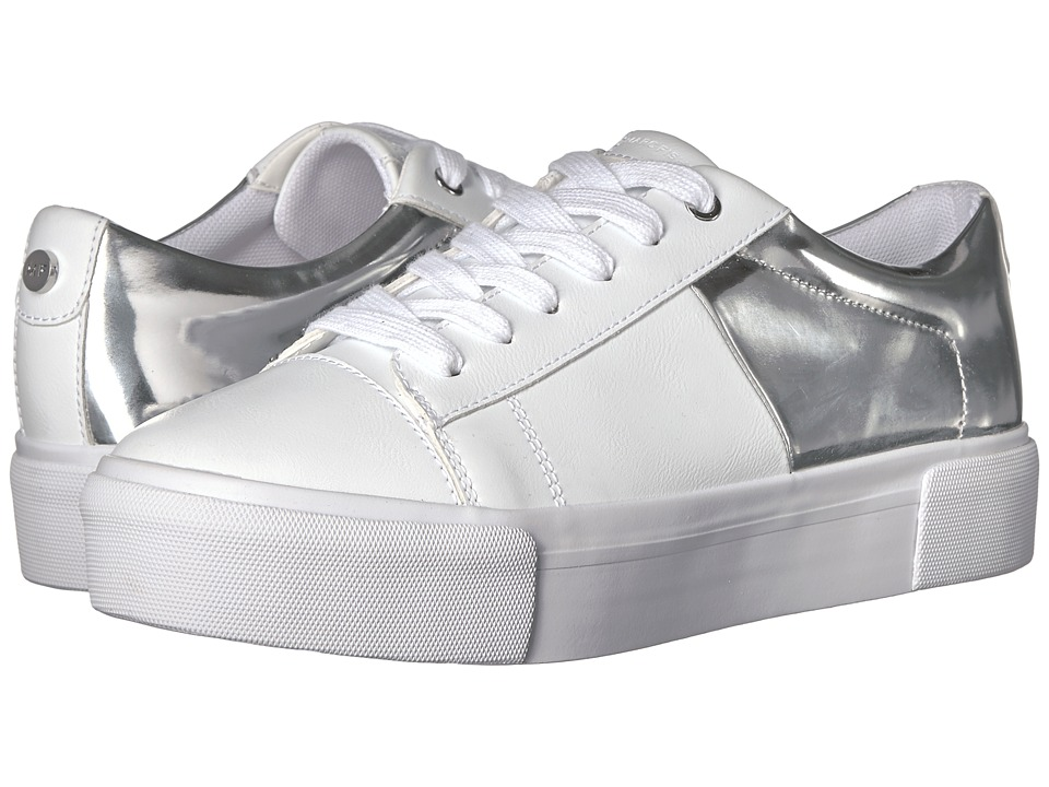 Marc Fisher - Xena (Silver) Women's Lace up casual Shoes
