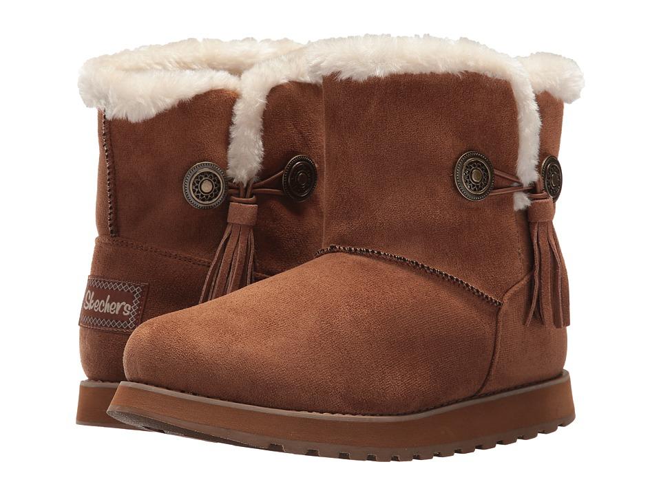 SKECHERS - Keepsakes (Chestnut) Women's Shoes