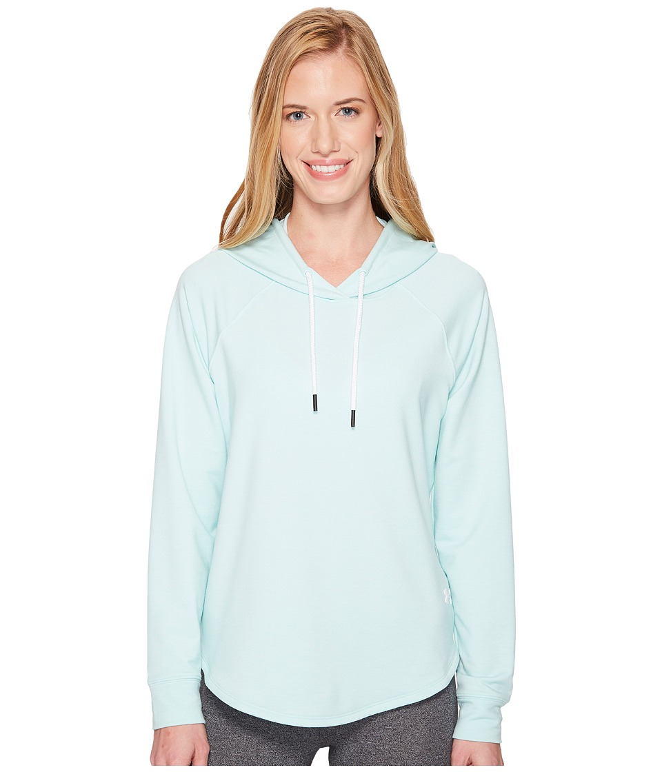 Under Armour Featherweight Fleece Pullover Hoodie (Refresh Mint/White) Women