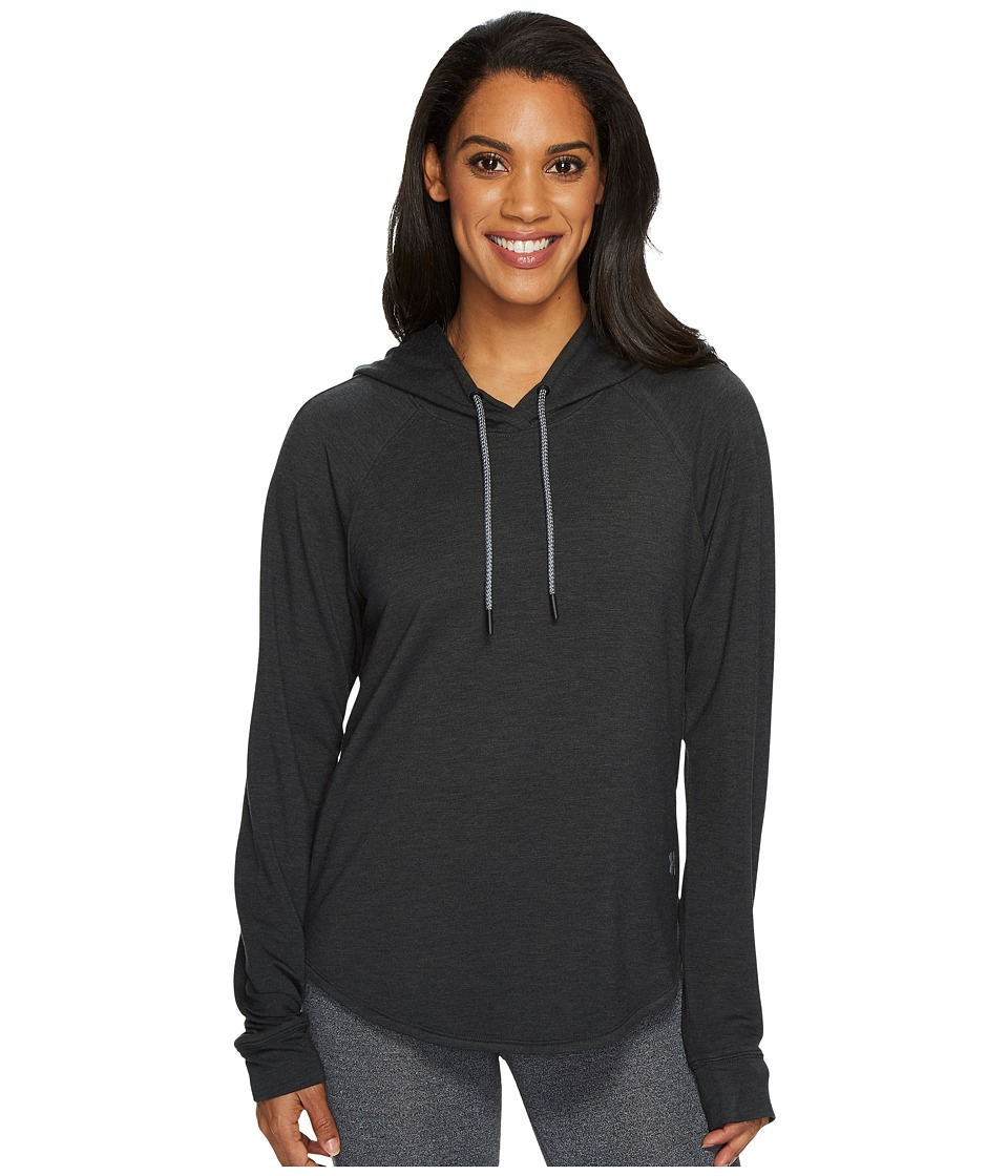 Under Armour Featherweight Fleece Pullover Hoodie (Black/Graphite) Women