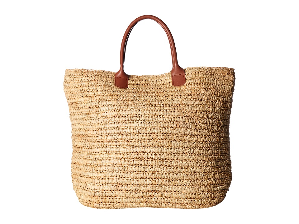 Hat Attack - Everyday Handheld Tote (Natural) Tote Handbags