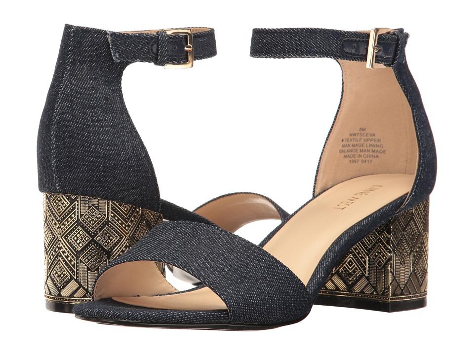 Nine West - Sceva (Navy) Women's Shoes