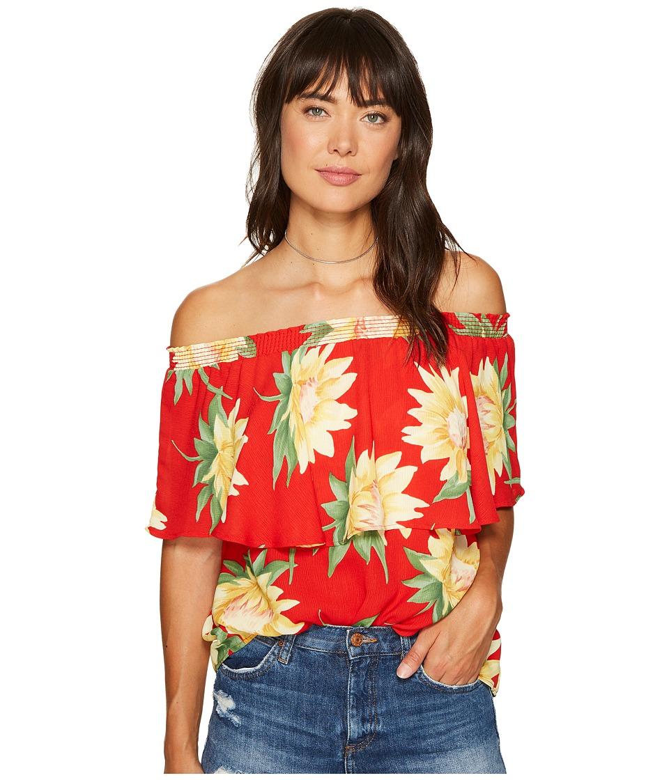 Show Me Your Mumu - Bungalow Top (Sunflower Fields) Women's Blouse