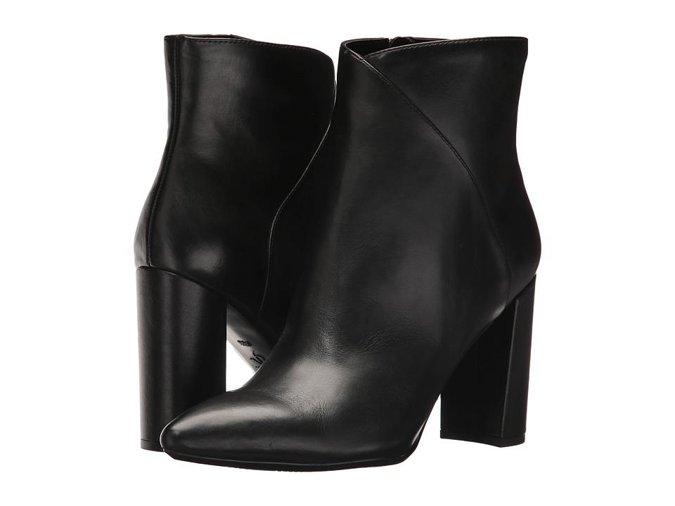 Nine West Argyle (Black Leather) Women