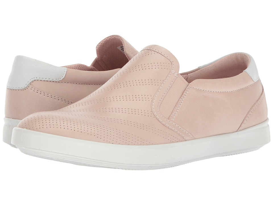 ECCO Aimee Perforated Slip-On (Rose Dust/White) Women