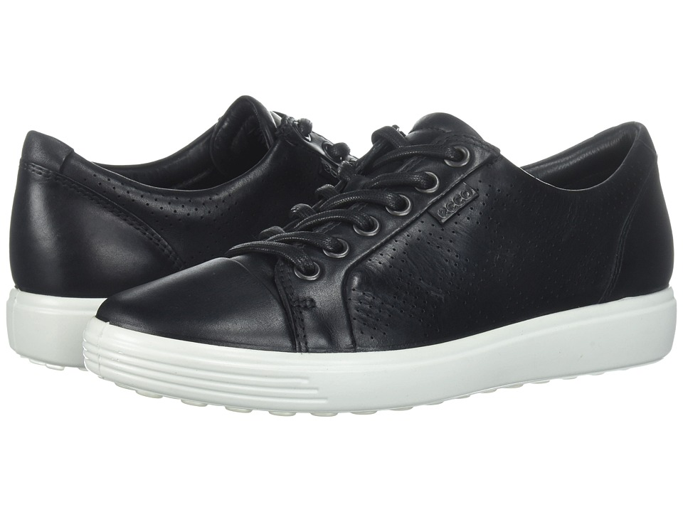 ECCO - Soft 7 (Black) Women's Shoes