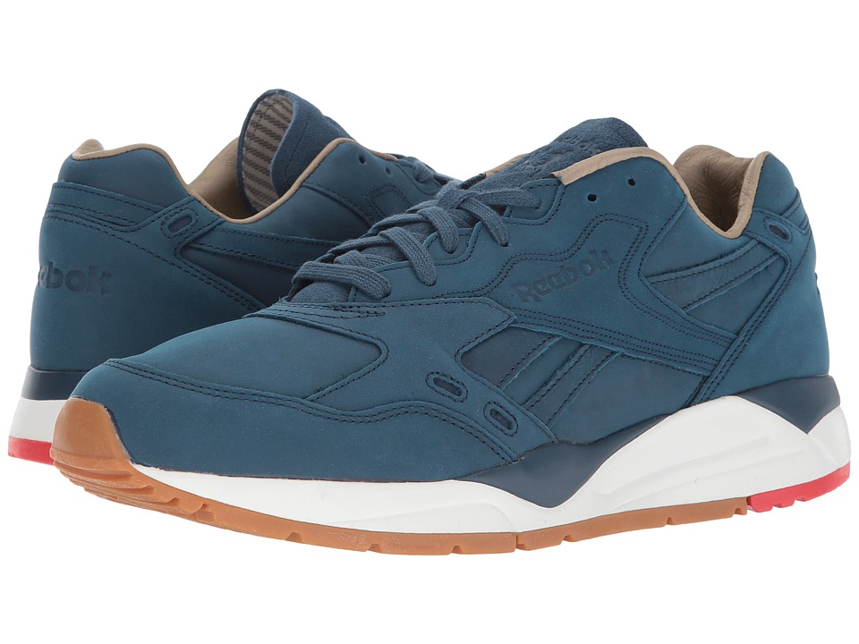 Reebok - Bolton WW (Blue Ashes/Chalk/Riot Red) Men's Running Shoes