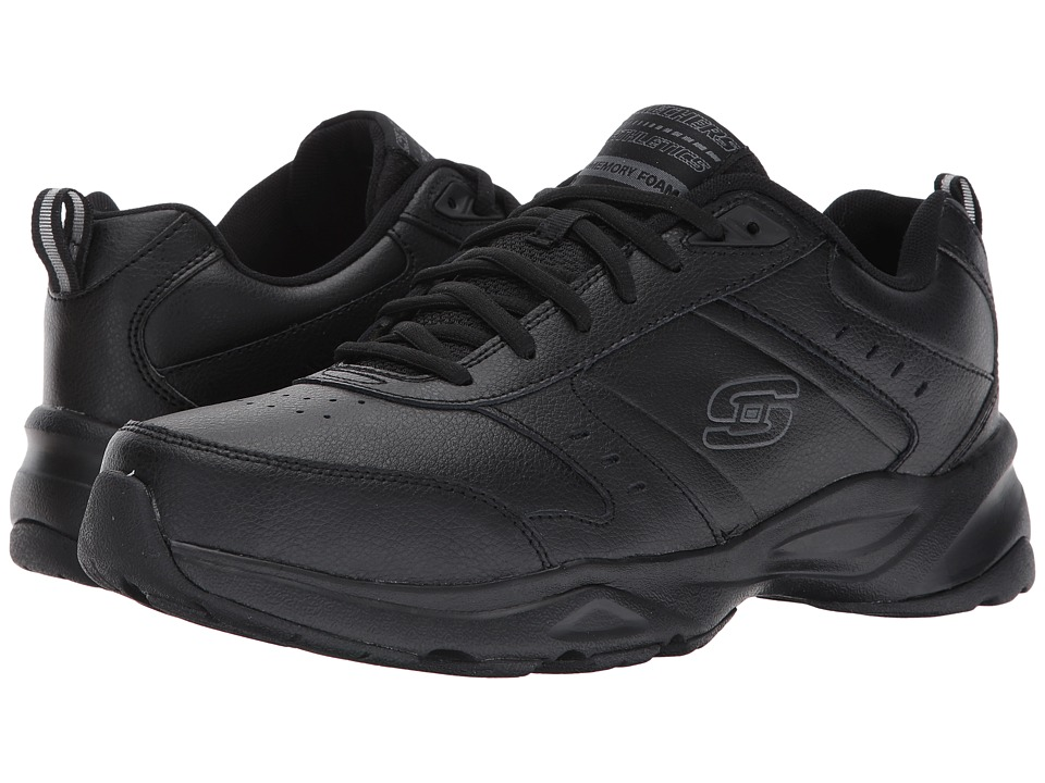 SKECHERS - Haniger (Black) Men's Shoes