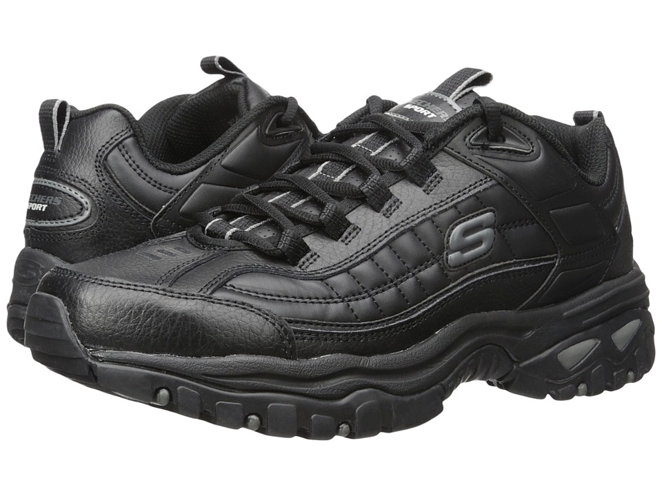 SKECHERS - Energy Afterburn (Black) Men's Shoes