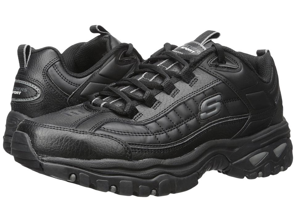 SKECHERS - Energy Afterburn (Black) Men's Shoes