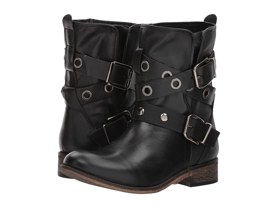 Coolway Adriana (Black Leather) Women