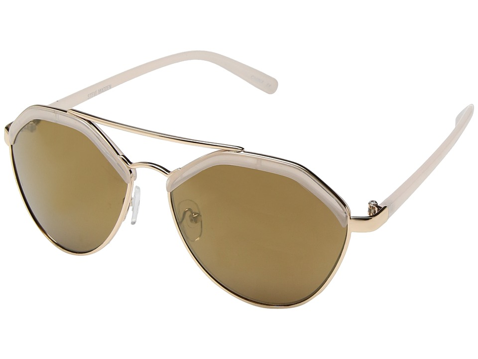 Steve Madden - Merry (Nude) Fashion Sunglasses