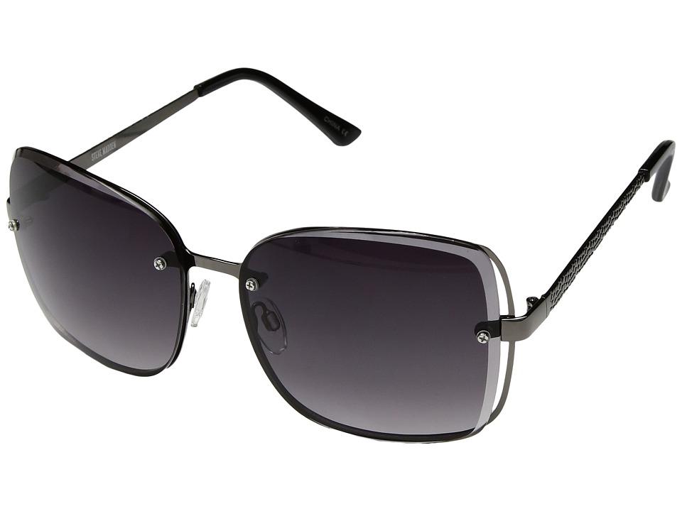 Steve Madden - Keegan (Gunmetal) Fashion Sunglasses
