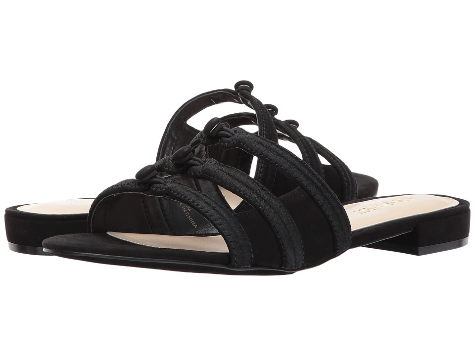 Nine West - Irock (Black Fabric) Women's Sandals
