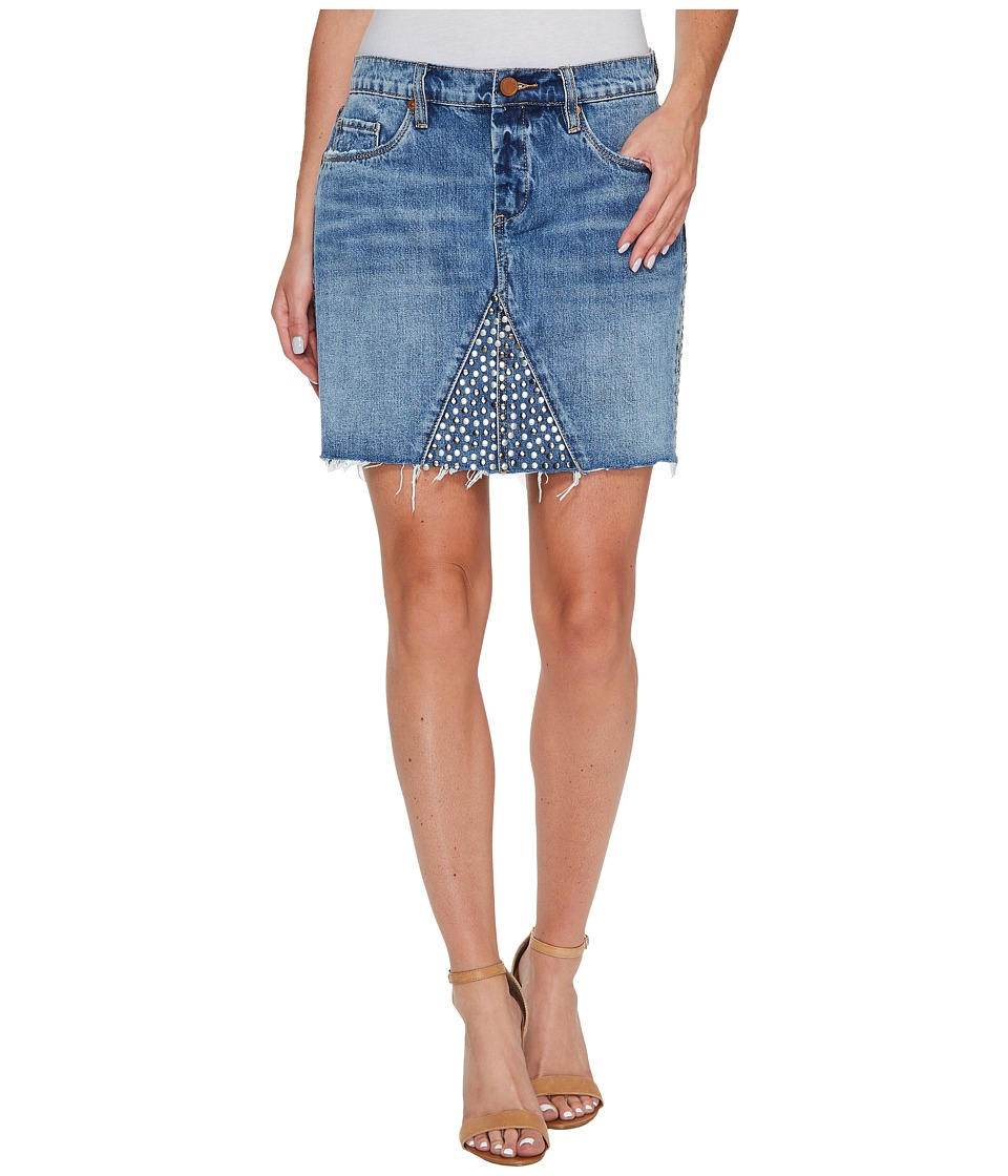 Blank NYC Denim Studded Skirt in Way Back When (Way Back When) Women
