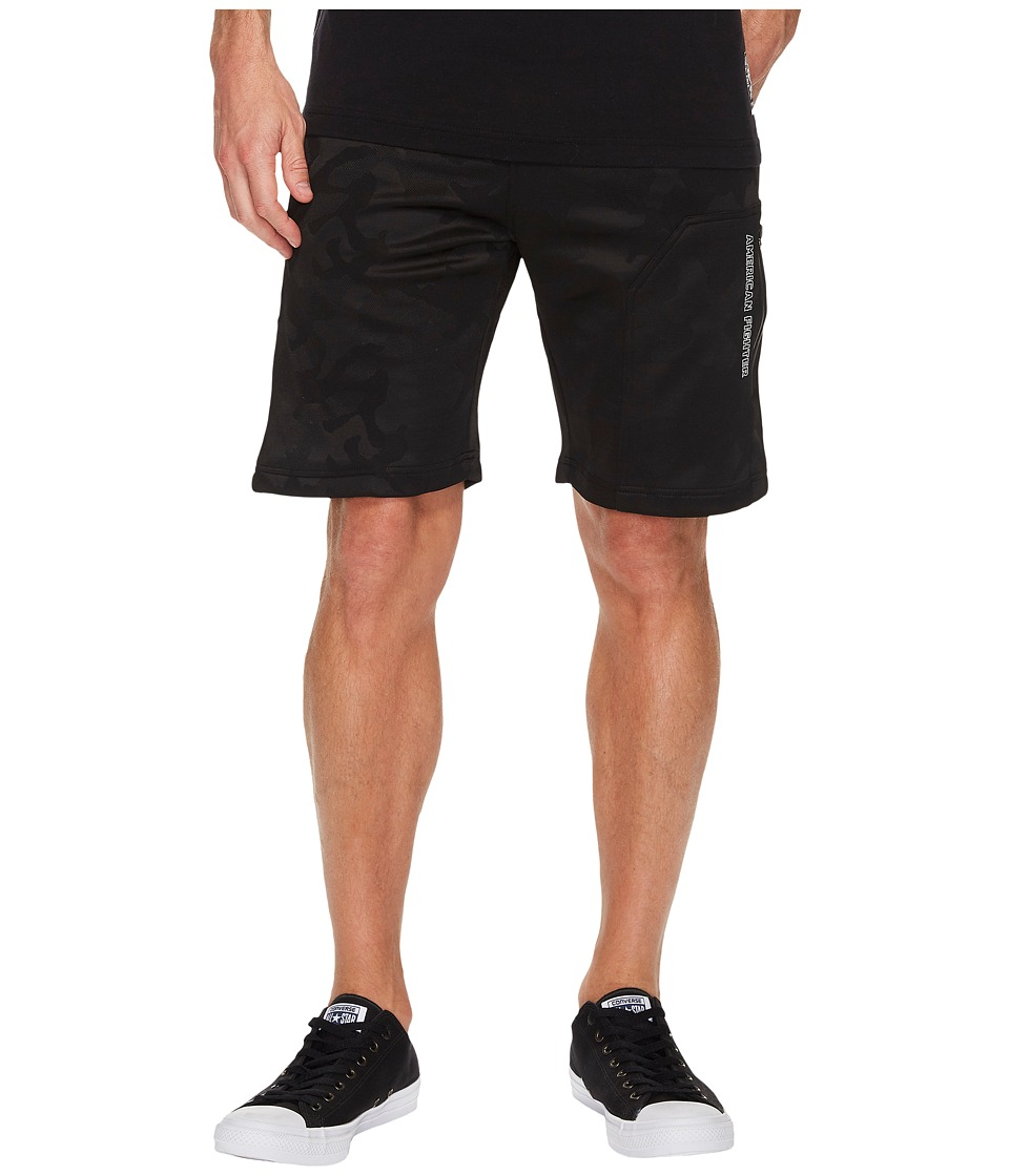 American Fighter - Rotations Sweatshorts (Black Camo) Men's Shorts