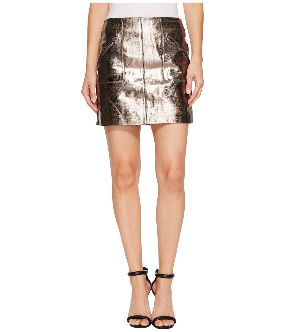 Blank NYC Metallic Skirt in Mercury (Mercury) Women