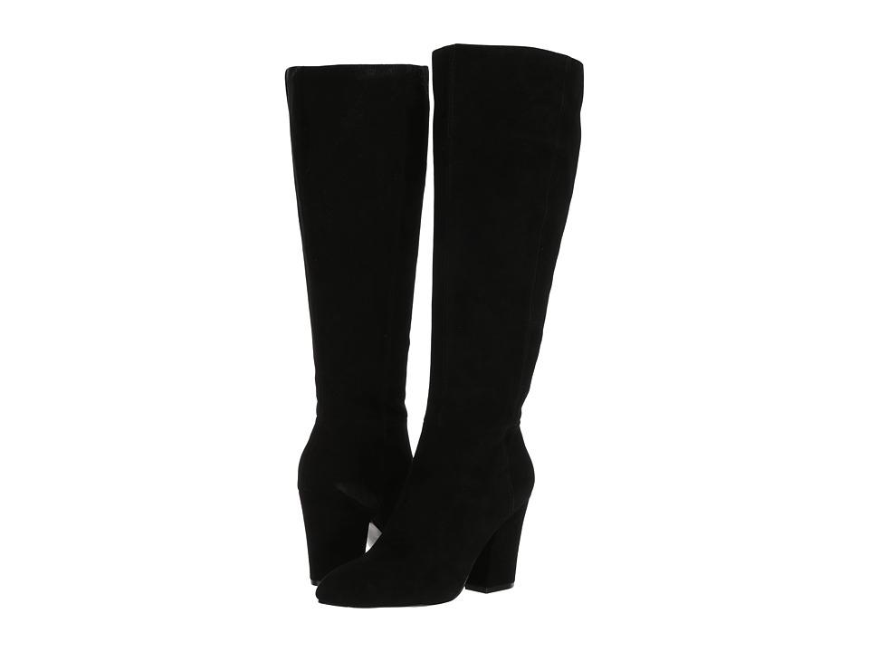 Nine West - Shearling - Wide Shaft (Black) Women's Shoes