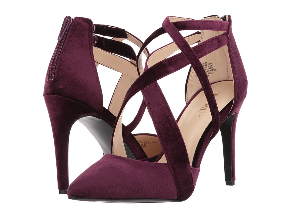 Nine West - Zorever (Aubergine) Women's Shoes