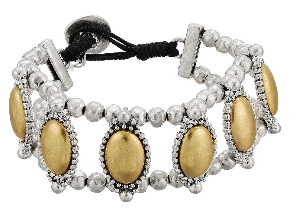 Lucky Brand - Western Link Bracelet (Two-Tone) Bracelet