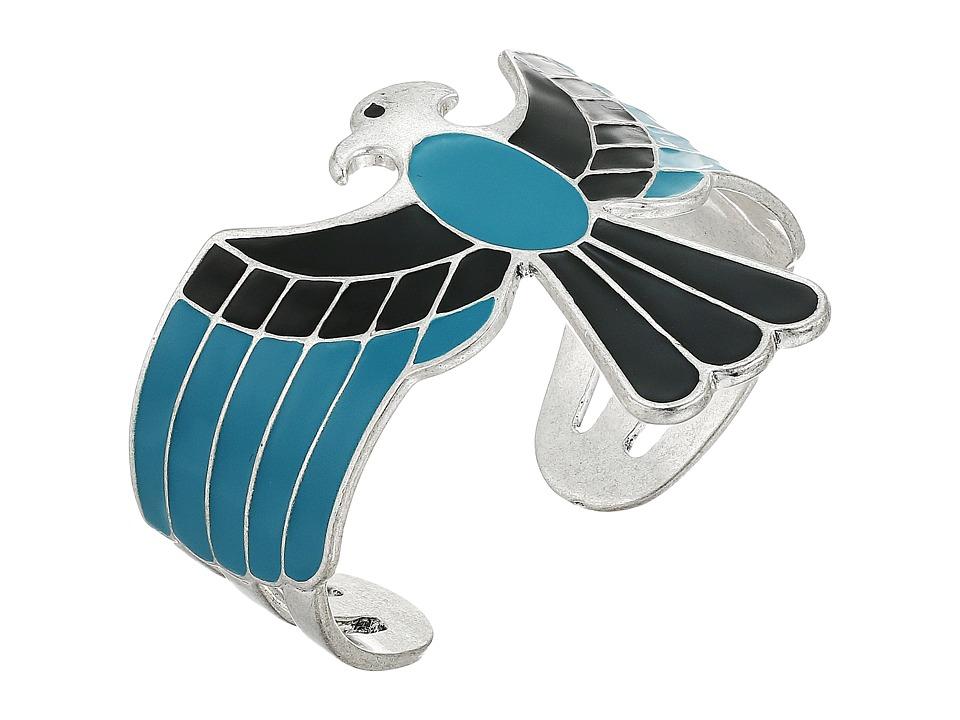 Lucky Brand - Eagle Cuff Bracelet (Silver) Bracelet