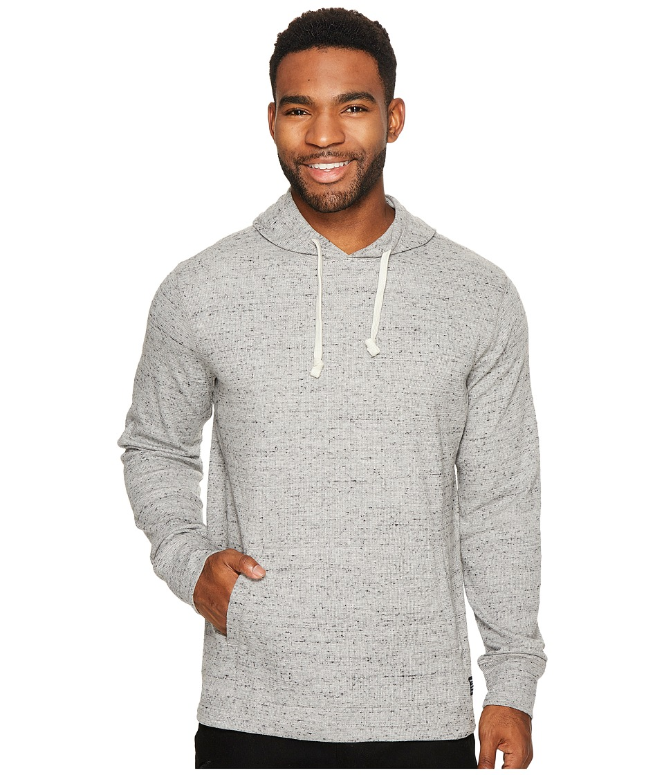 O'Neill - Boldin Thermal Hooded Pullover (Light Grey) Men's Clothing