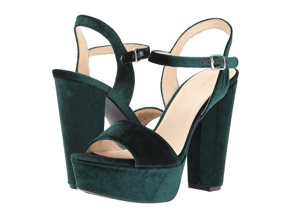 Nine West Carnation (Dark Emerald) Women