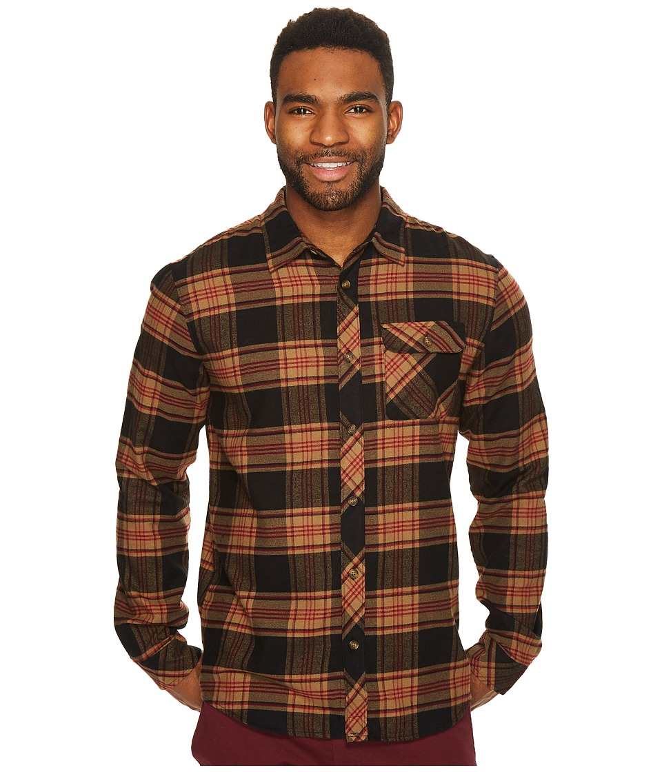 O'Neill - Watt Flannel (Black) Men's Clothing