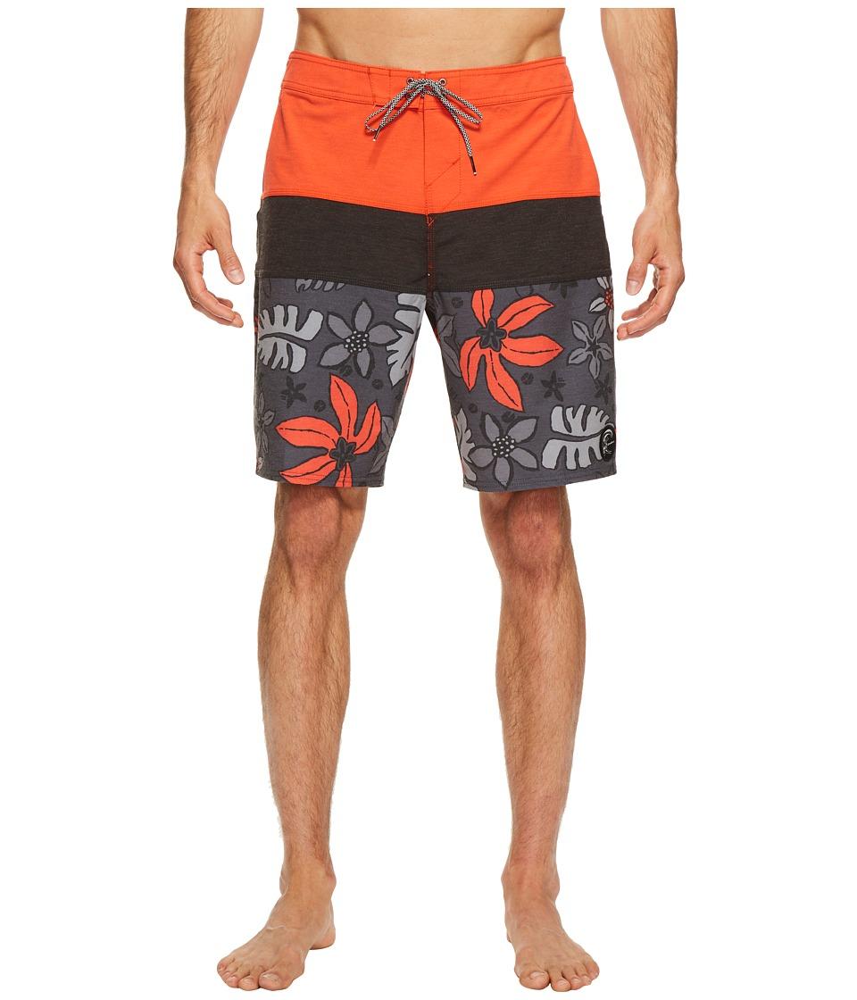 O'Neill - Hyperfreak Lahaina Superfreak Series Boardshorts (Neon Red) Men's Swimwear