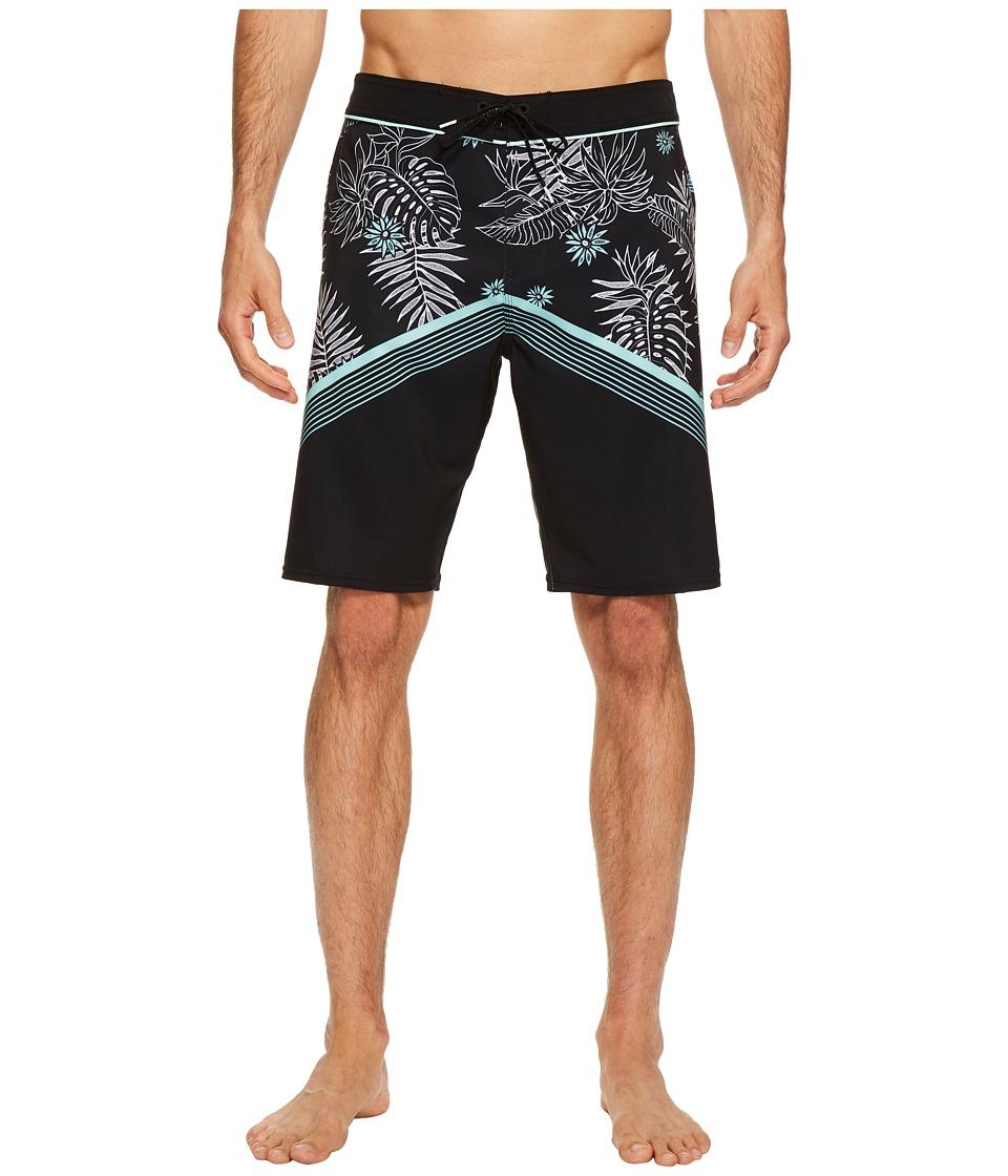 O'Neill - Hyperfreak Tradewinds Superfreak Series Boardshorts (Black) Men's Swimwear
