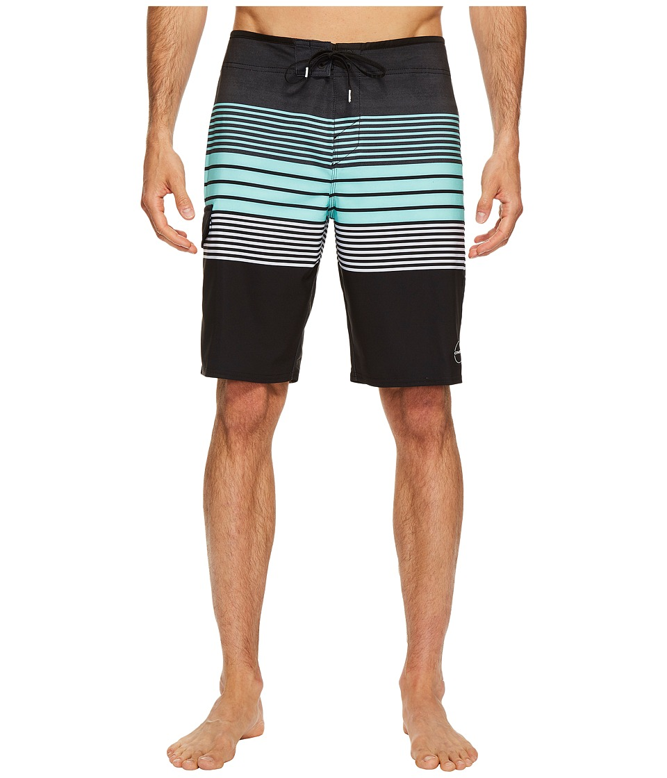 O'Neill - Hyperfreak Motivator Superfreak Series Boardshorts (Black) Men's Swimwear