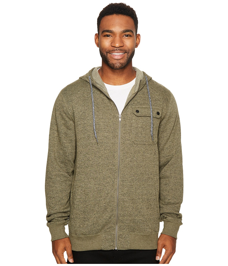 O'Neill - Imperial Zip Hoodie (Olive) Men's Clothing