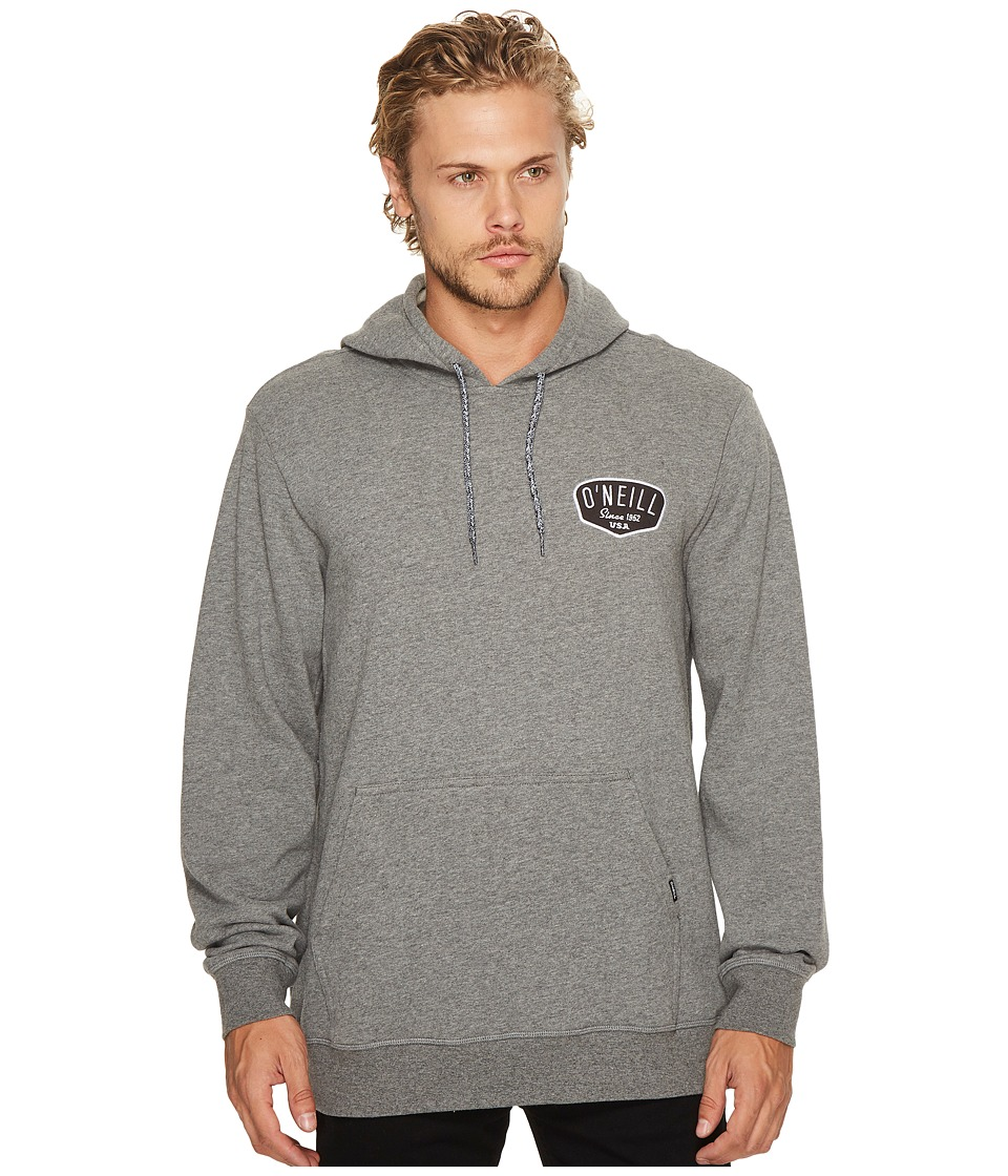 O'Neill - Shaping Bay Pullover Fashion Fleece (Heather Grey) Men's Fleece