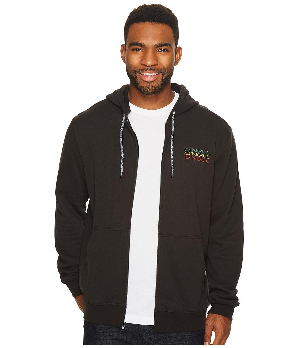 O'Neill - Triple Stack Hoodie Fashion Fleece (Black) Men's Fleece