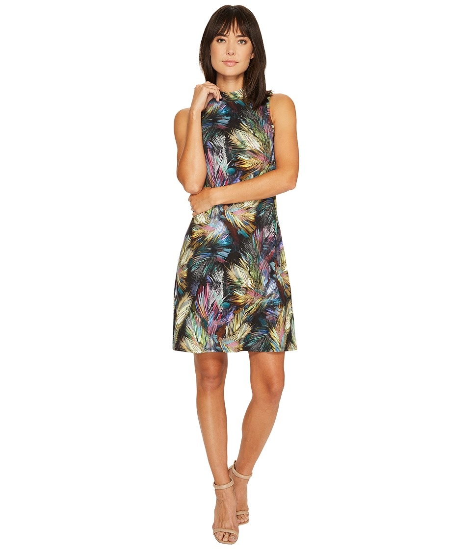 Karen Kane - Sleeveless Mock Neck Dress (Print) Women's Dress