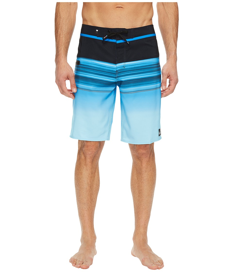 Quiksilver Hold Down Vee 20 Boardshorts (Electric Blue) Men