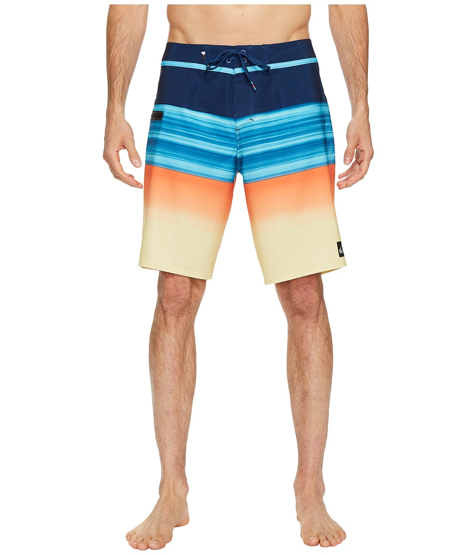 Quiksilver Hold Down Vee 20 Boardshorts (Estate Blue) Men