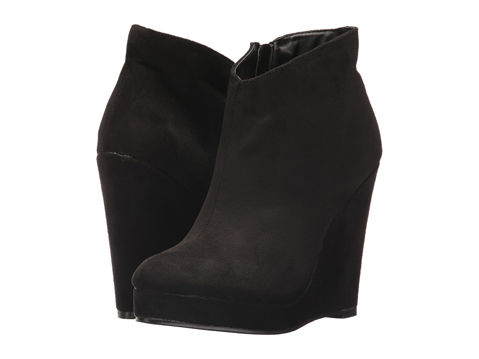 Michael Antonio - Cerras (Black Suede) Women's Pull-on Boots