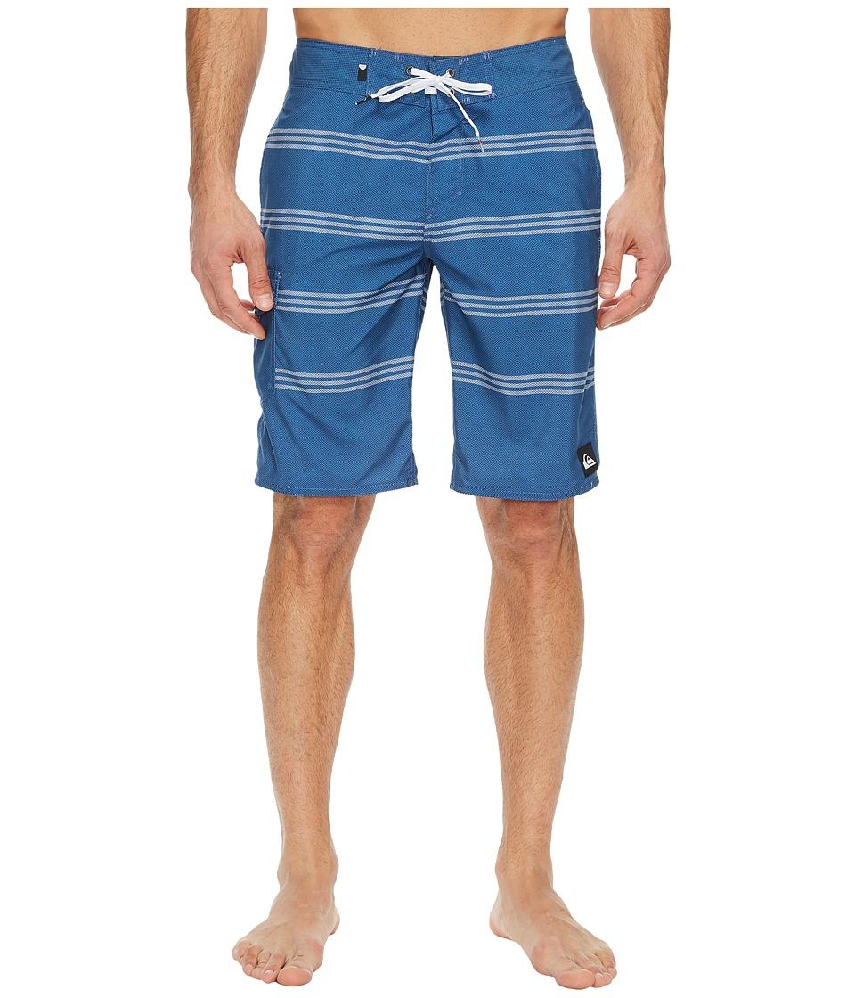 Quiksilver Everyday Prints 21 Boardshorts (Federal Blue) Men