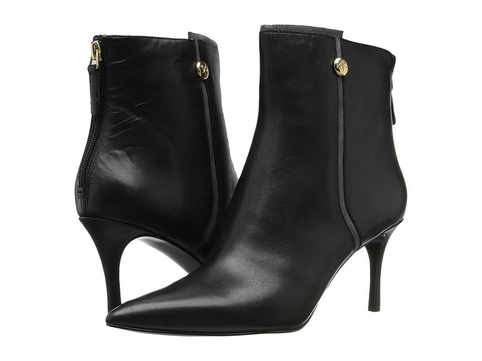 Nine West Monsoon (Black/Dark Grey Leather) Women