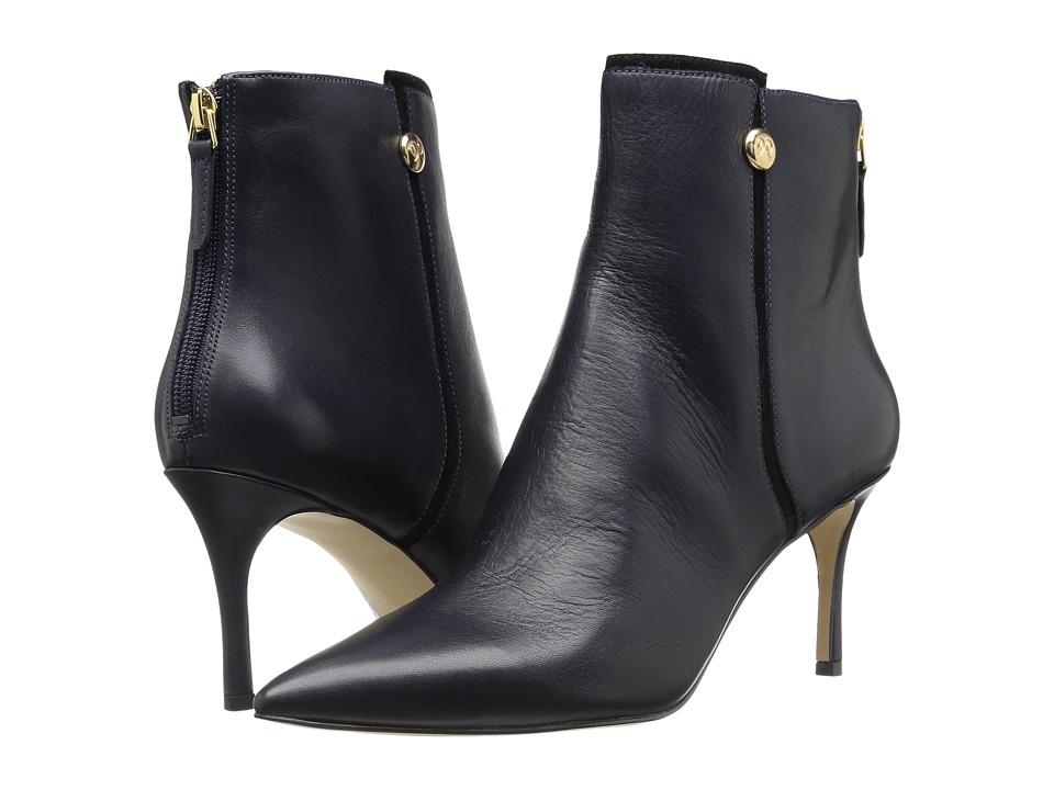Nine West Monsoon (Navy/Black Leather) Women