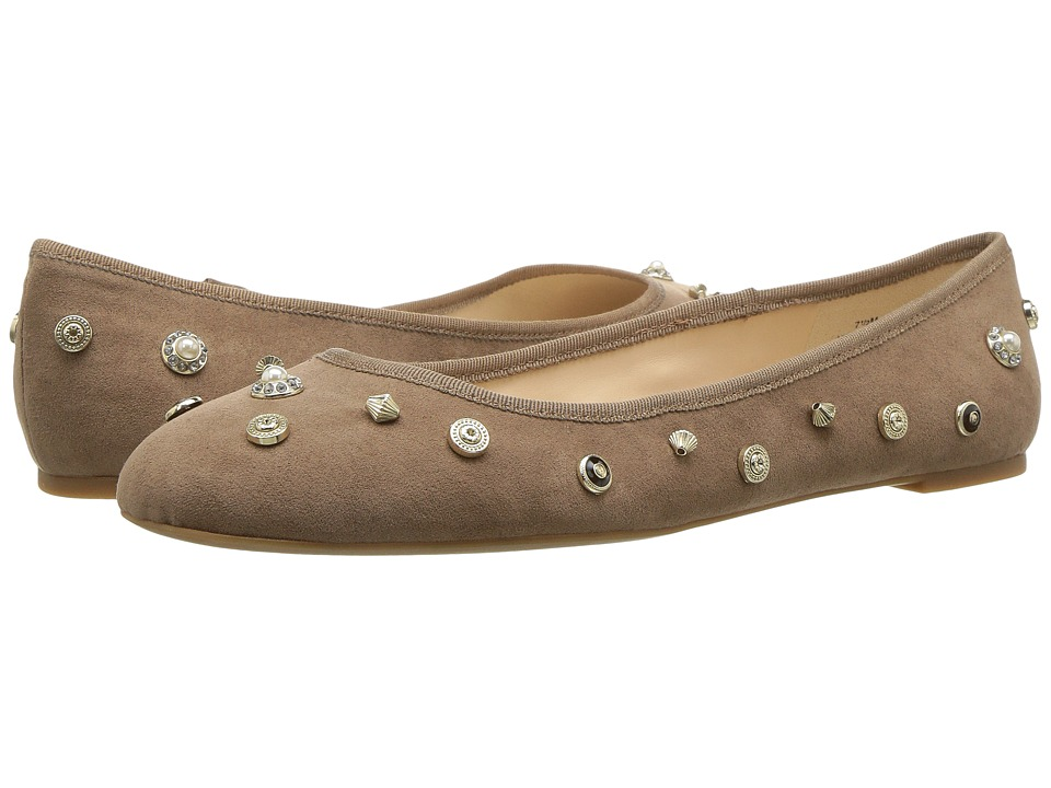 Nine West - Morton (Natural/Natural Fabric) Women's Flat Shoes