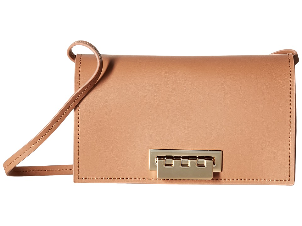 ZAC Zac Posen - Earthette Crossbody Solid (Ginger) Cross Body Handbags