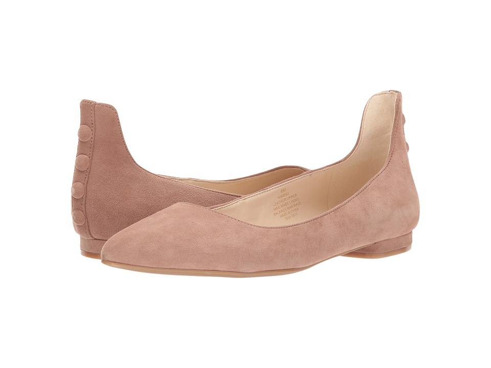 Nine West Owl (Natural Suede) Women