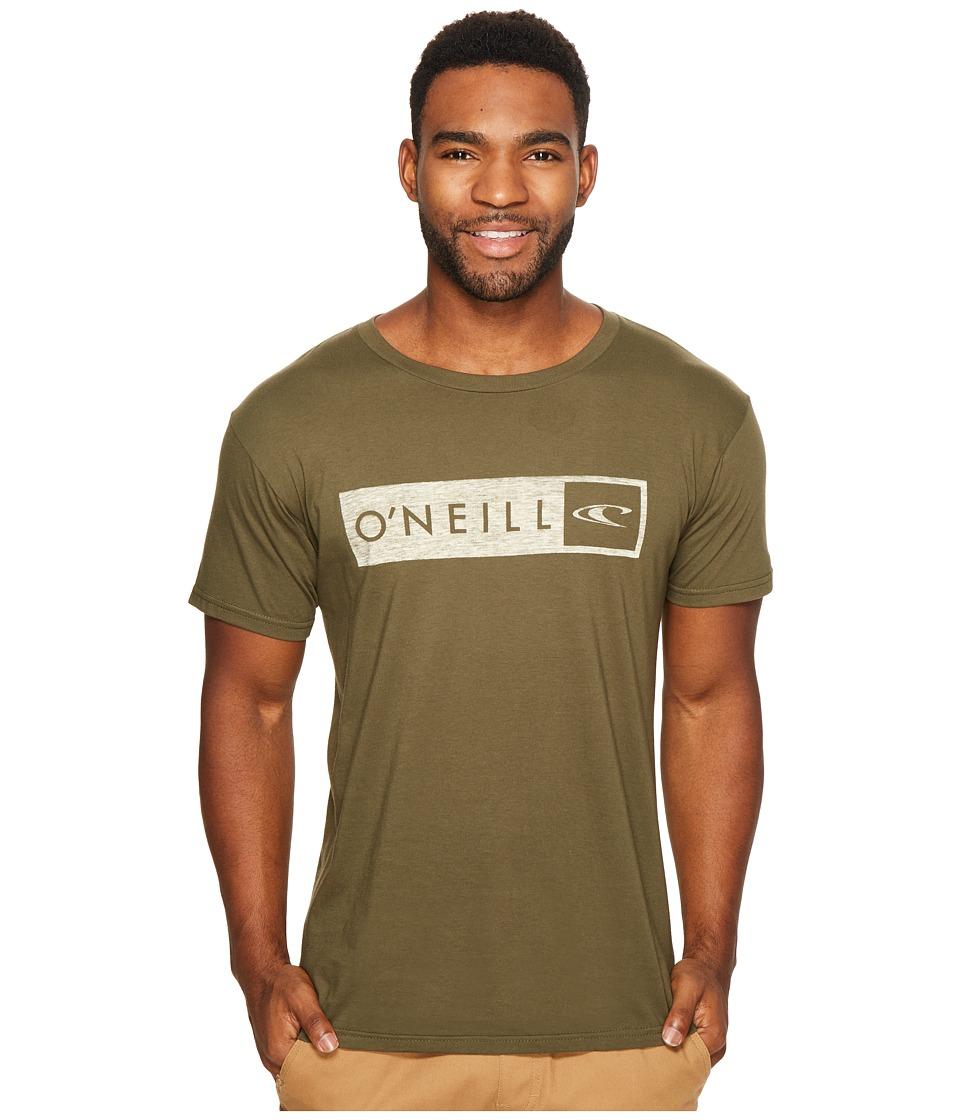 O'Neill - Framed Tee (Military Green) Men's T Shirt