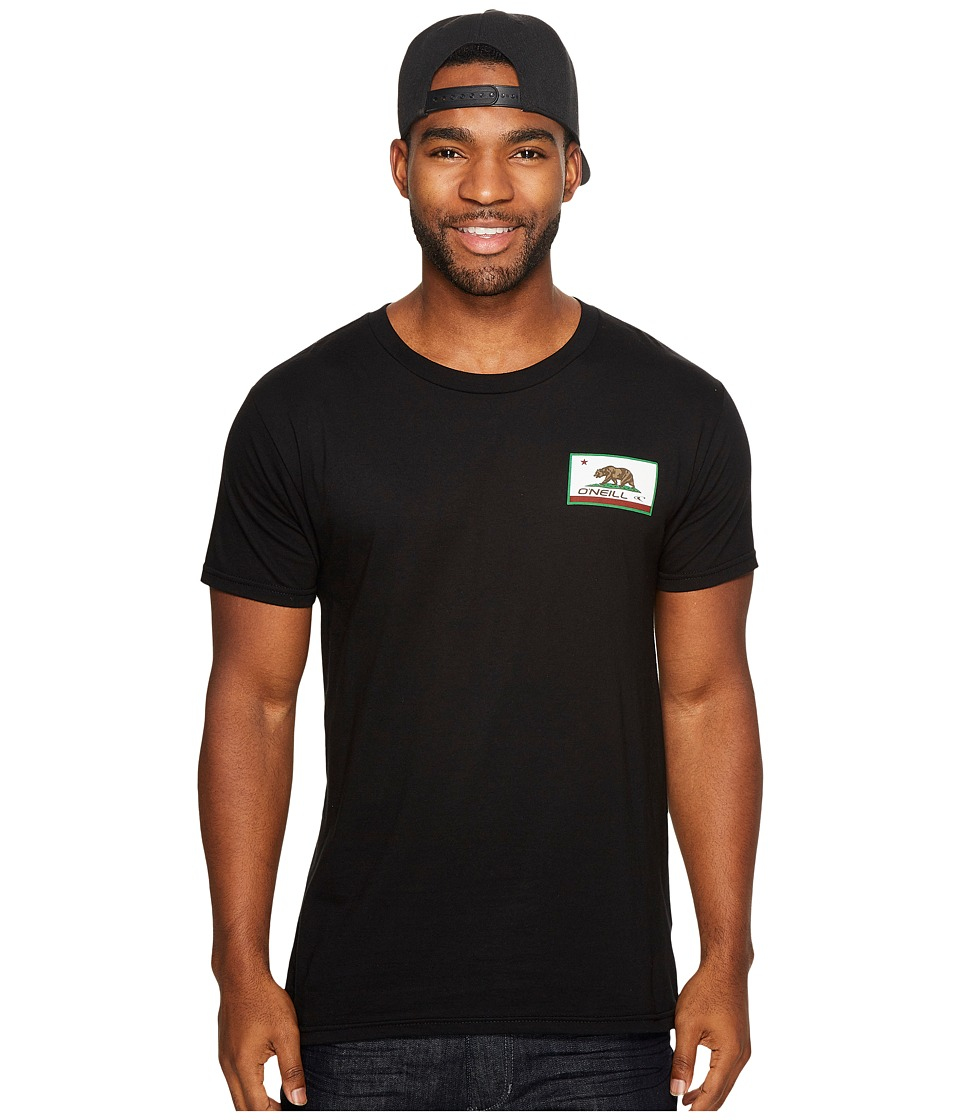 O'Neill - Signal Tee (Black) Men's T Shirt