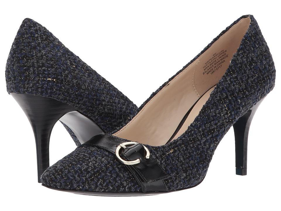 Nine West - Karacurl (Navy Multi/Black) Women's Shoes