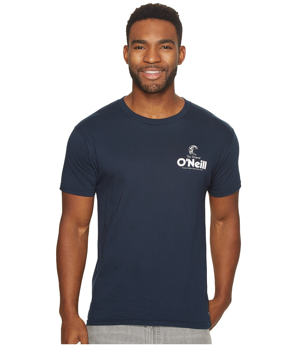 O'Neill - Stickup Tee (Navy) Men's T Shirt