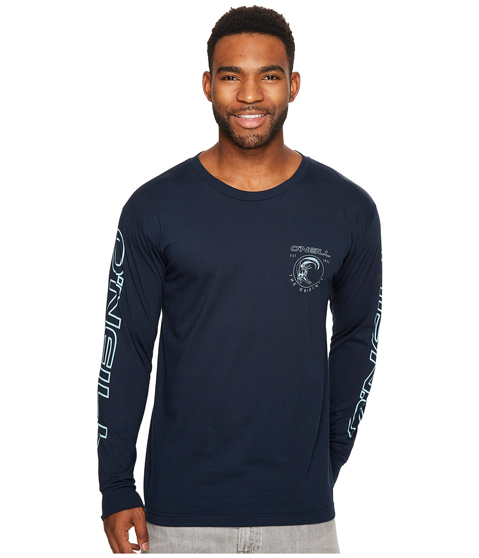 O'Neill - Monumental Long Sleeve Tee (Navy) Men's T Shirt